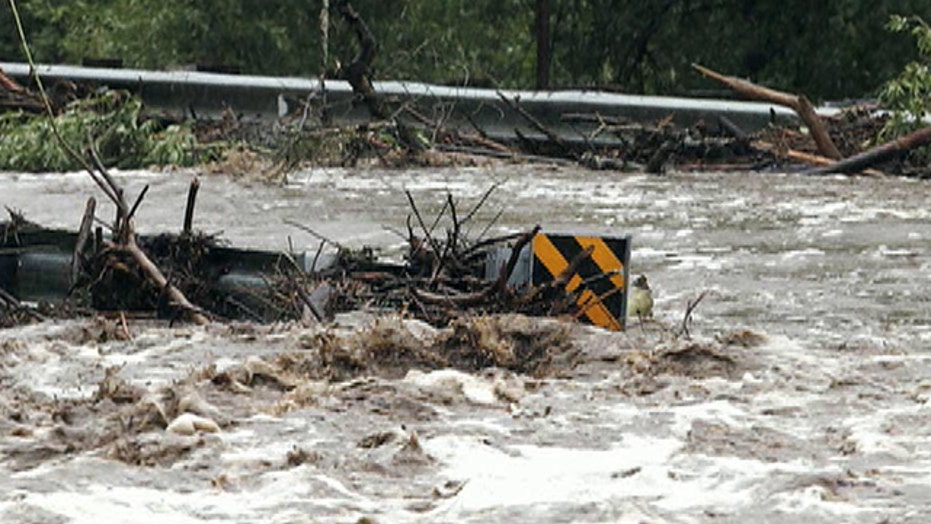 Rising waters in Colorado force thousands to evacuate