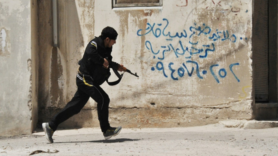 Why has it taken so long to get weapons to Syrian rebels?