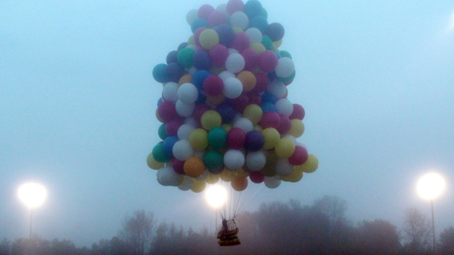 'Up'-inspired attempt to fly across Atlantic