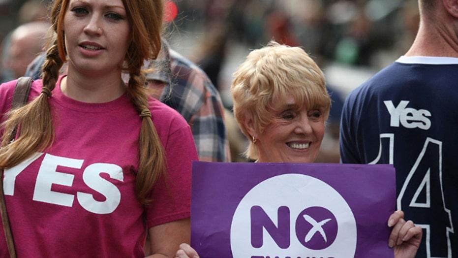 Scottish Independence referendum 'too close to call'