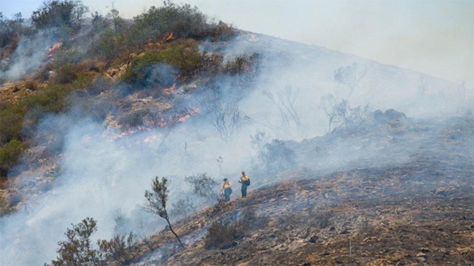 Fire crews battling multiple wildfires in California