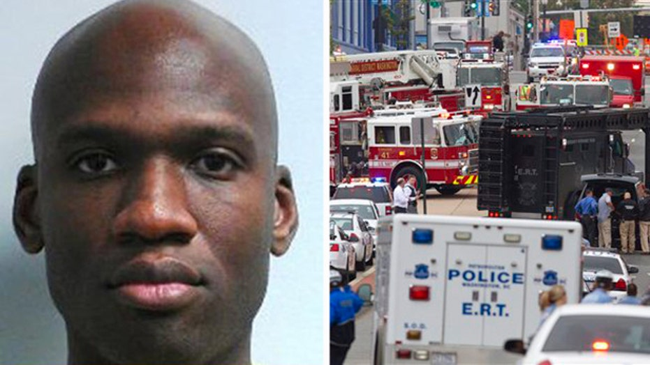 Suspected gunman Aaron Alexis reported to be among 13 dead
