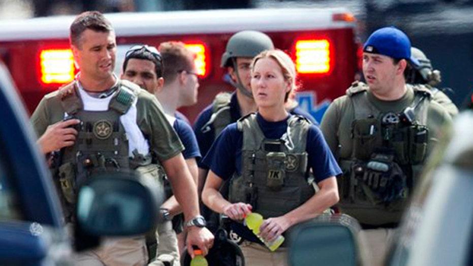 Timeline of horror in D.C. Navy Yard shooting