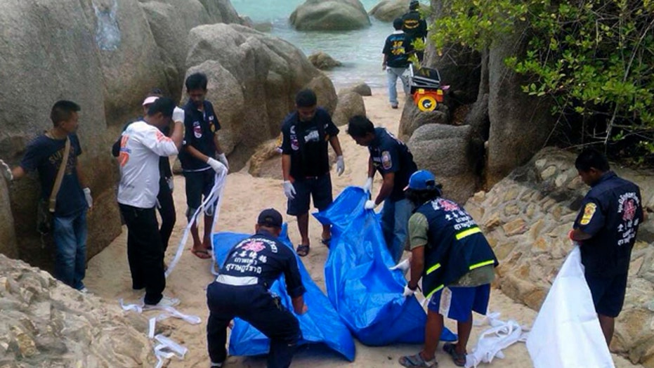 Two British tourists likely murdered in Thailand