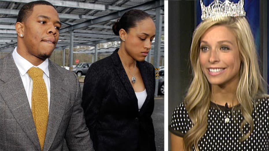 Miss America's advice to Ray and Janay Rice