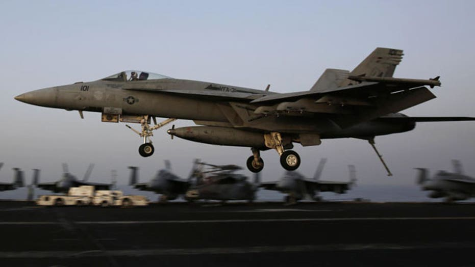 U.S. launches airstrikes outside of Baghdad