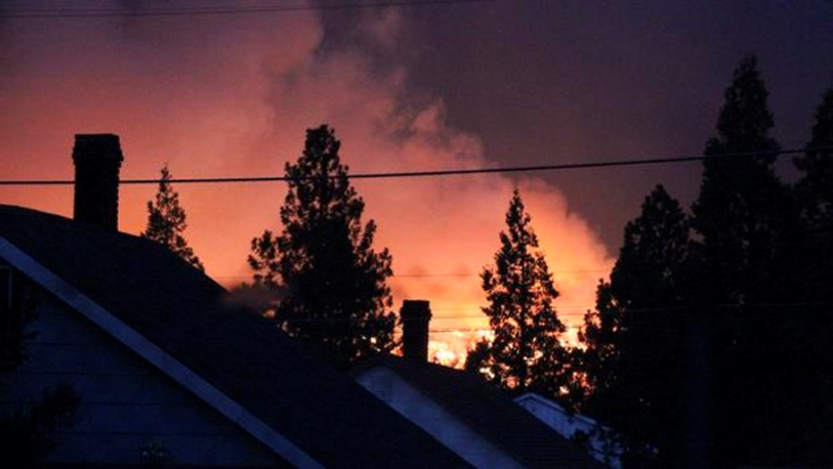 Wildfires continue to rage across northern California