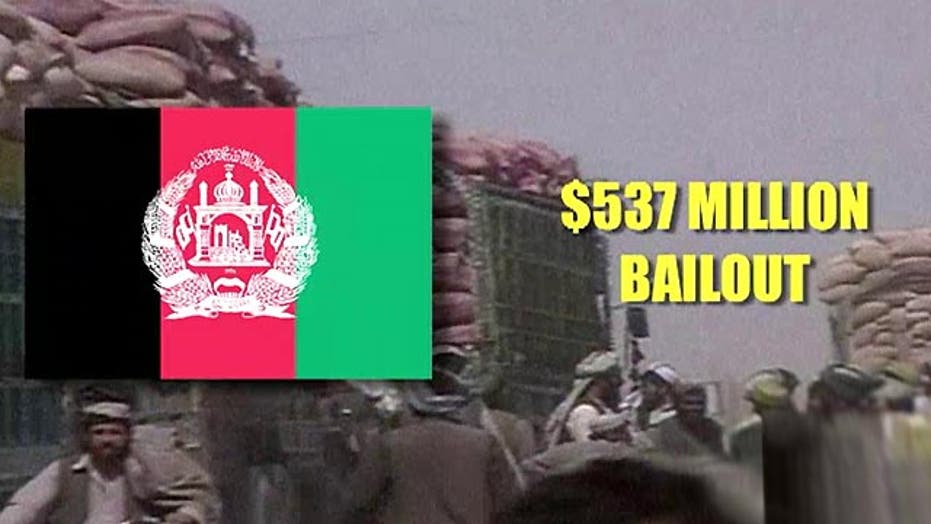 Afghanistan asks US for multi-million dollar bailout