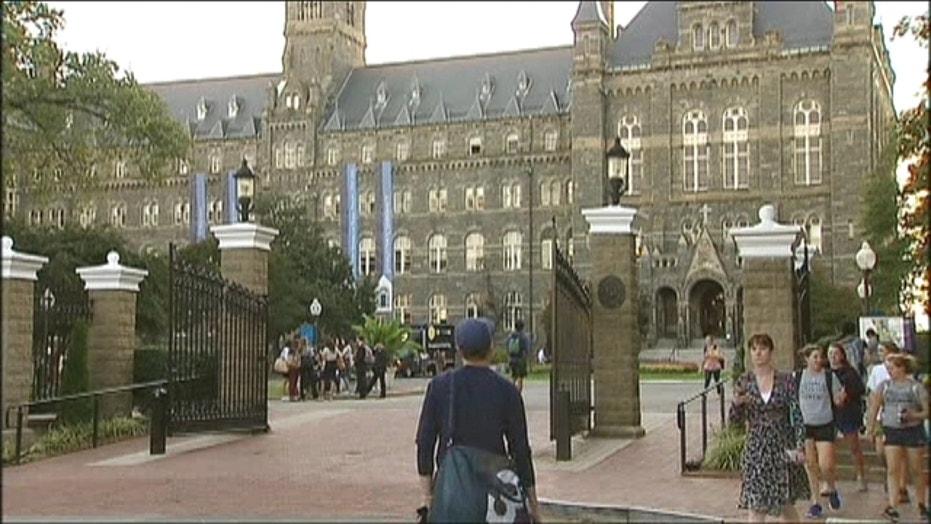 Georgetown University student dies from meningitis