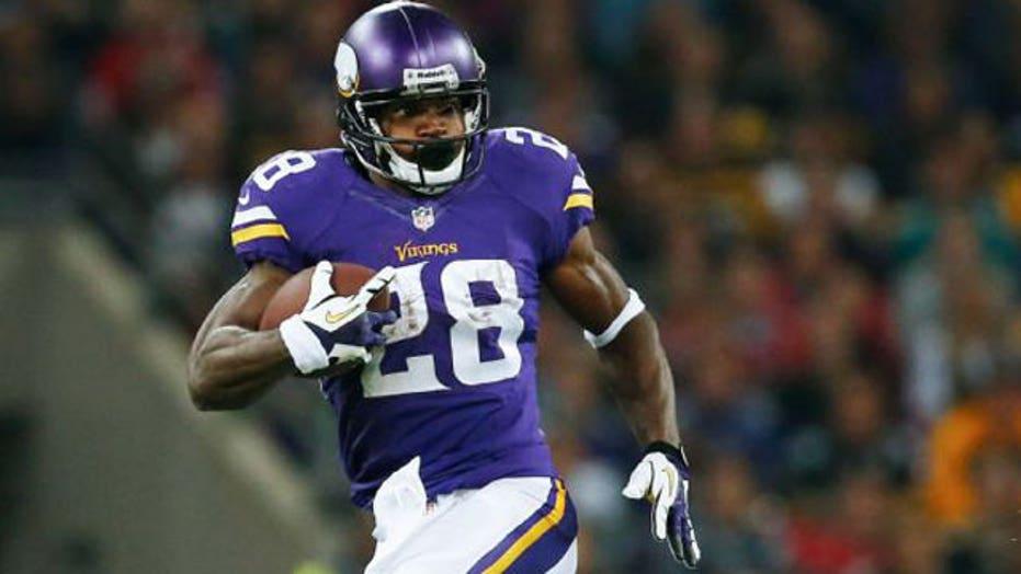 Minnesota suspends running back Adrian Peterson