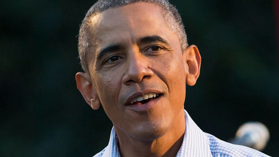 Obama doubles down against boots on ground