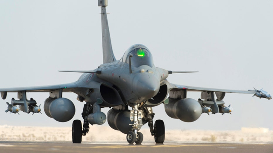 France becomes first ally to launch airstrikes against ISIS