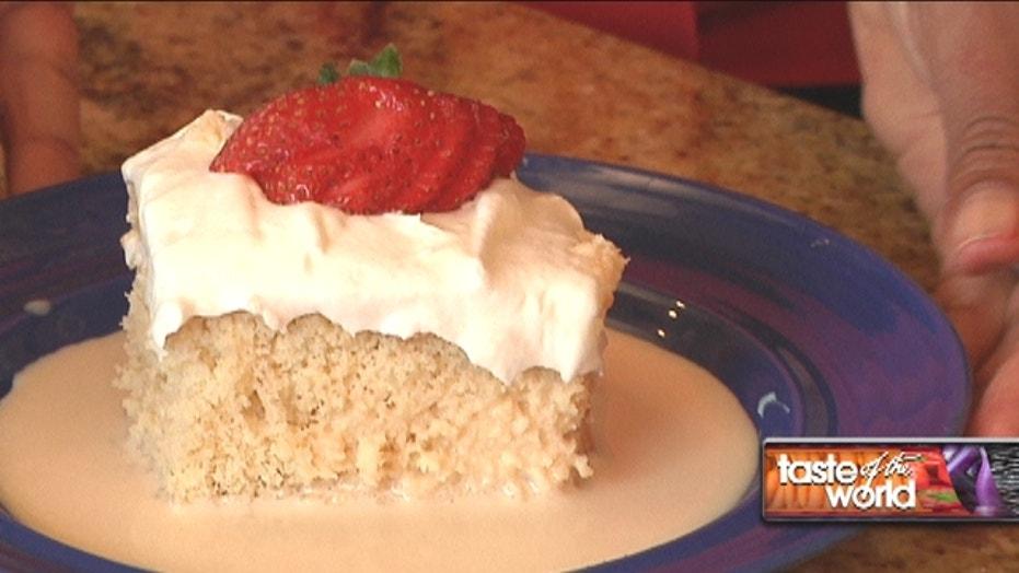 Hispanic Heritage Month: Tres Leches Cake Recipe