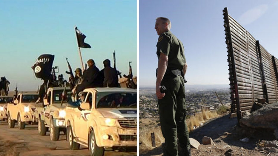 ISIS threats spark new calls to secure US borders