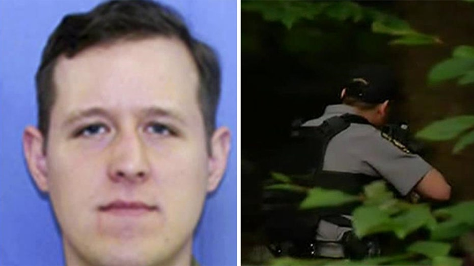 Manhunt still under way for suspect in Pa. trooper shooting