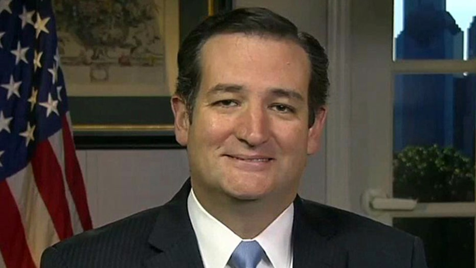 Sen. Ted Cruz on ObamaCare, debt ceiling showdown