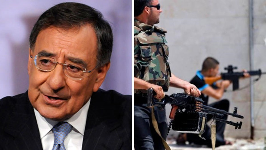 Panetta says WH should have armed Syrian rebels sooner