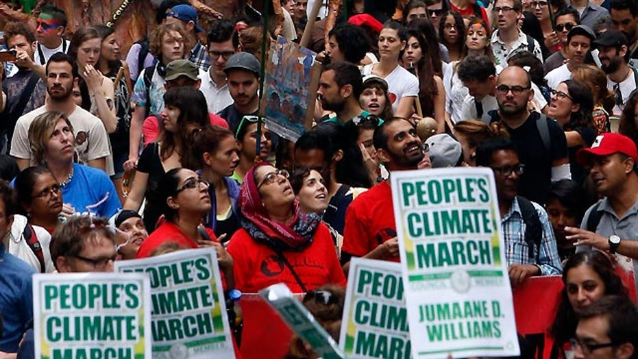 Bias Bash: Skewed coverage of People's Climate March