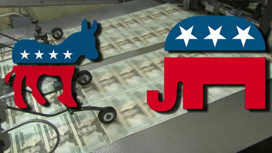 Democrats outraising GOP in battle for Senate