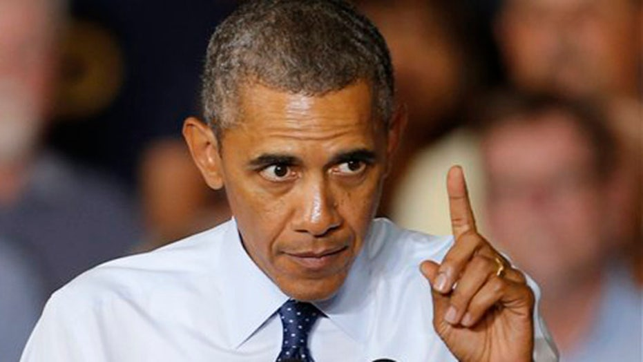 Obama under pressure to prove he's a strong world leader?