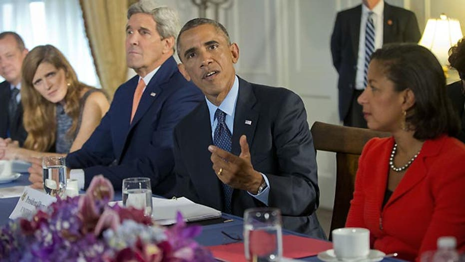 Obama continues push for global coalition to defeat ISIS
