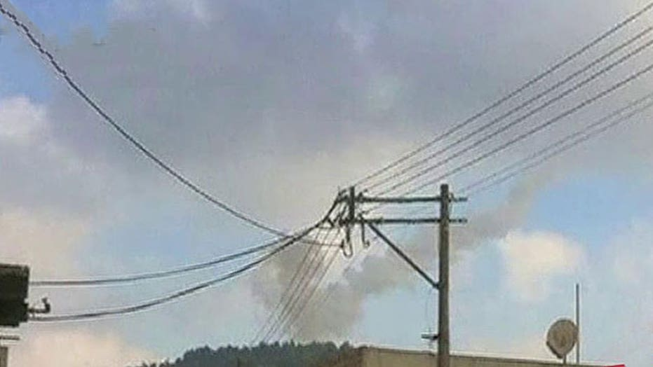Syrian jet shot down in Israeli airspace