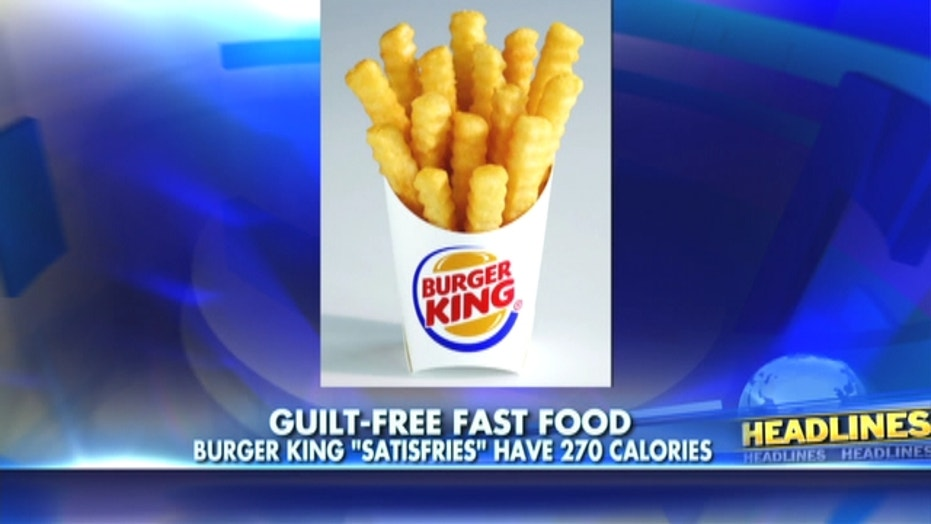 Burger King Introduces New Low Calorie French Fries