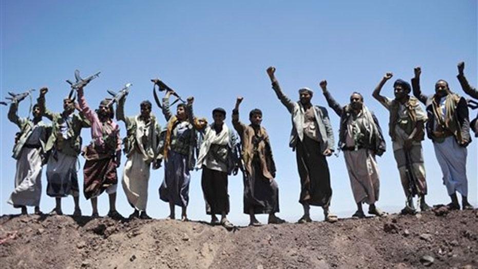 Rebel faction in Yemen takes over capital