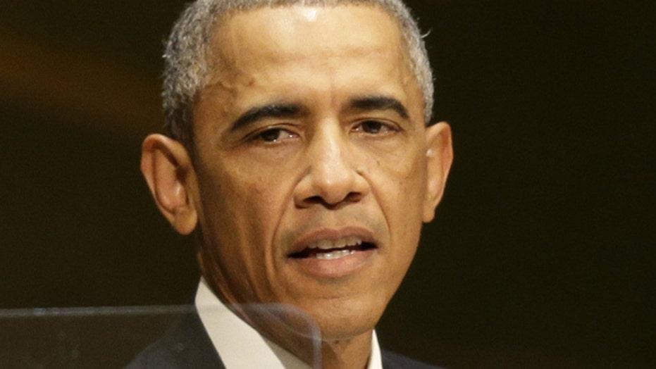 Obama: Cancer of violent extremism could derail our progress
