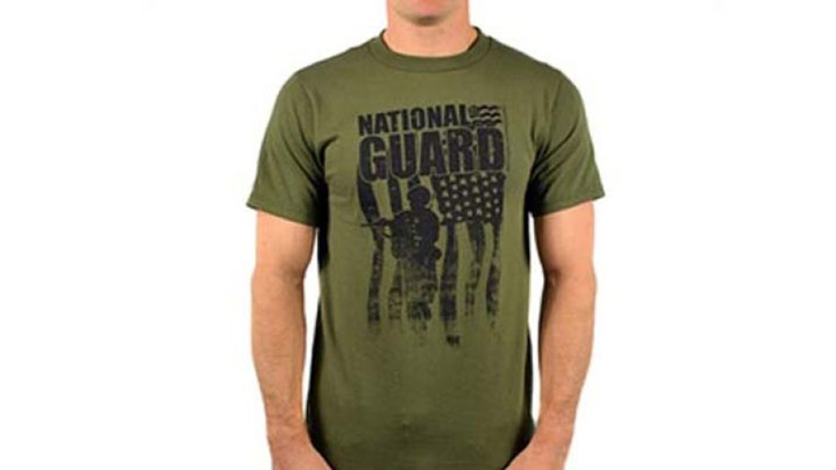 School bans National Guard T-shirts