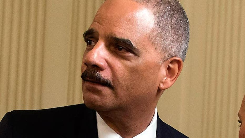President Obama's top cop turns in his badge