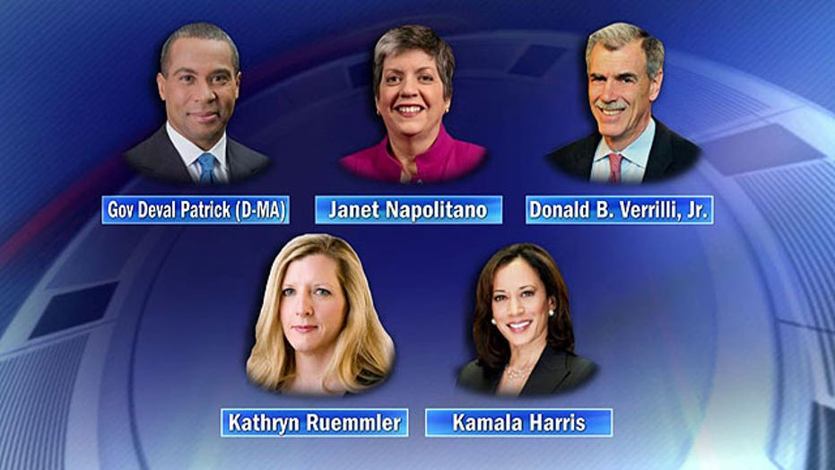 Who will succeed Eric Holder as attorney general?