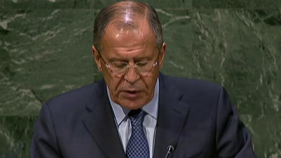 Russian foreign minister criticizes U.S. foreign policy