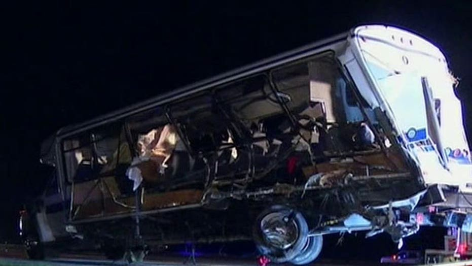 Deadly crash kills four college students in Oklahoma