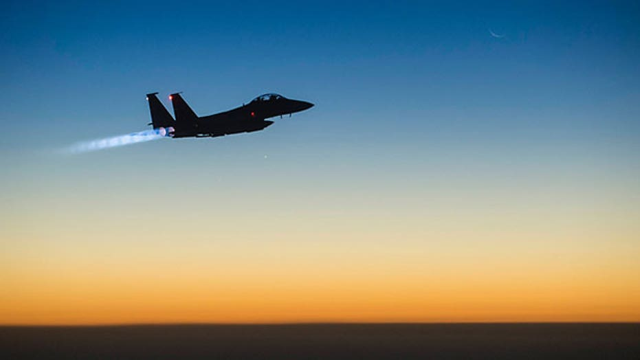 US airstrikes hit ISIS targets in 4 regions of Syria