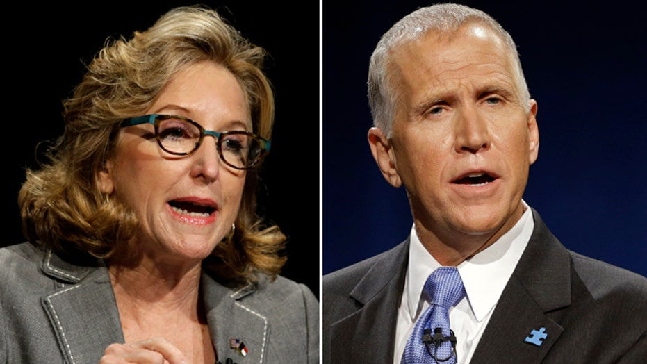 Hagan keeps lead in North Carolina Senate race