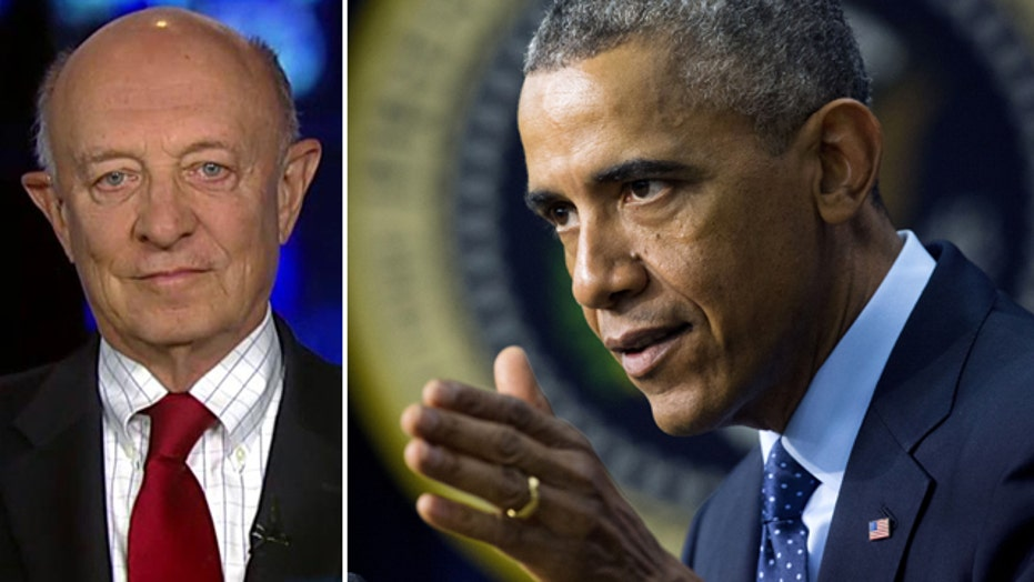 Ex-CIA head reacts to Obama blaming intel for missing ISIS