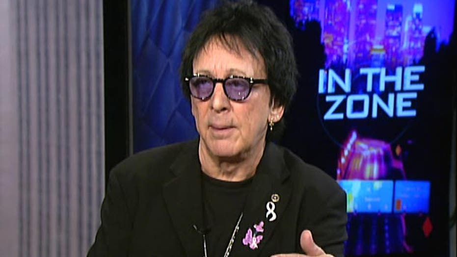 KISS' Peter Criss: You don't need boobs to get breast cancer
