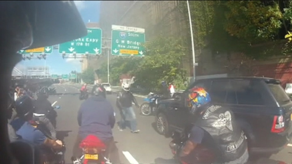 Bikers Chase Driver, Beat Him After Car Accident