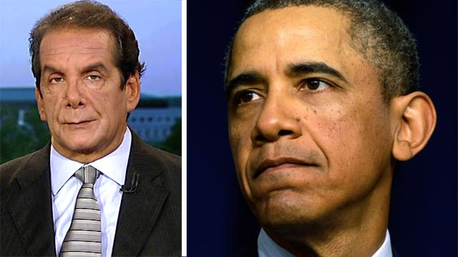 Krauthammer: 'we have a presidency falling apart'