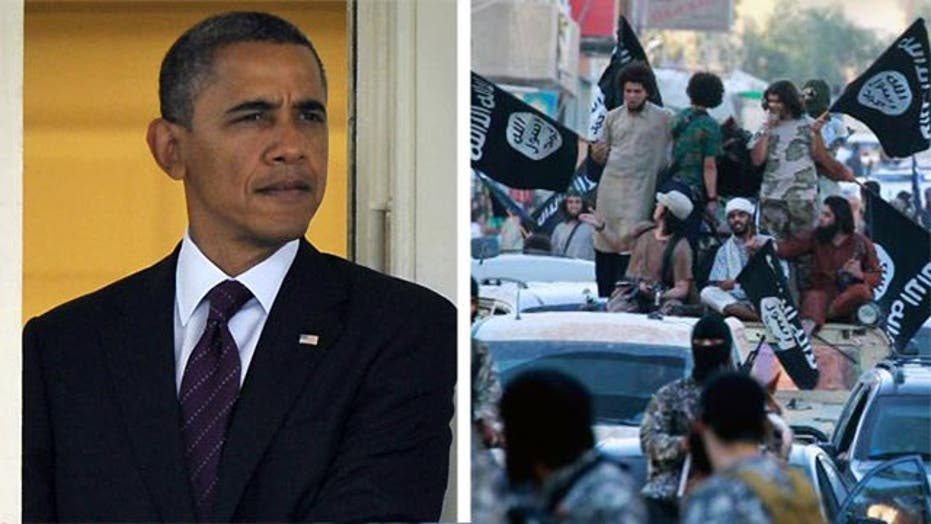 How do Americans view Obama's handling of ISIS?