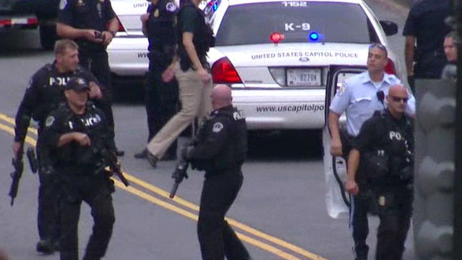 Capitol Police: Shots fired, officers injured