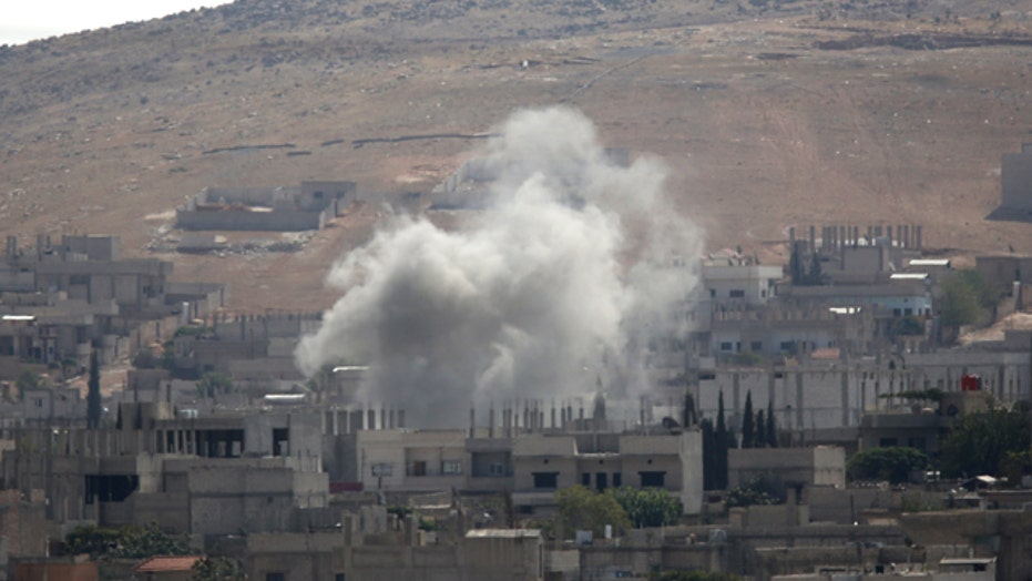 ISIS forces on edge of Syrian town bordering Turkey