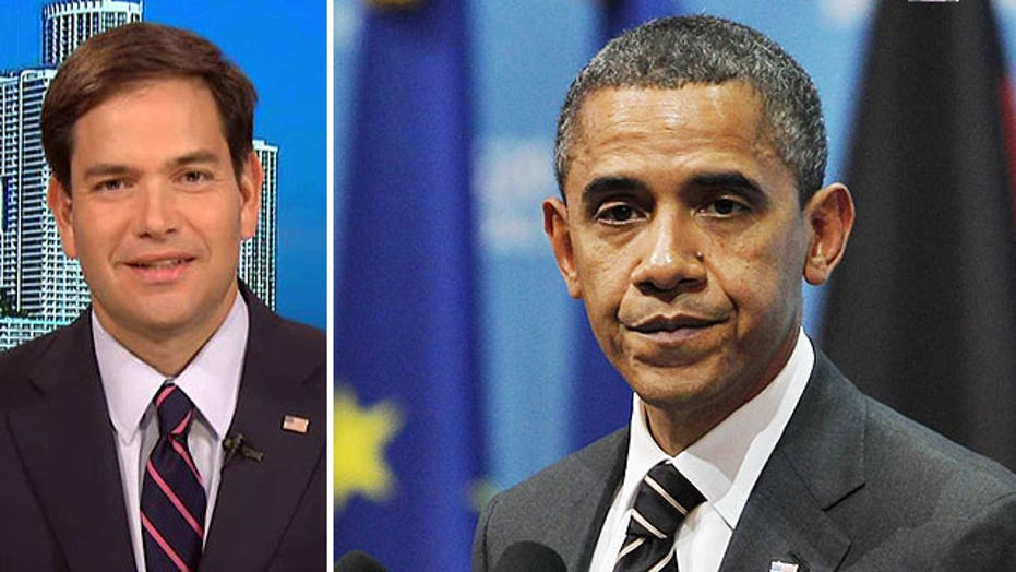Sen. Rubio sounds off on Obama's policies ahead of midterms