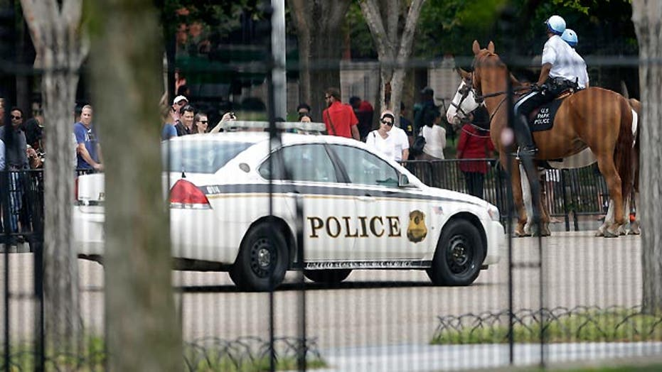 White House security is no stranger to violent incidents