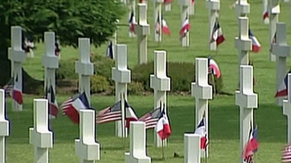 Military cemetery in Normandy closed due to slimdown