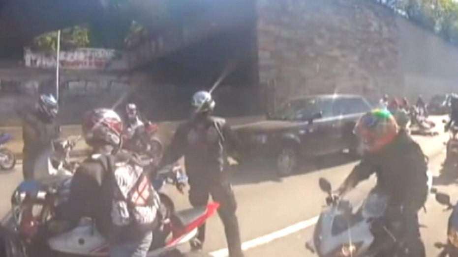 Did 'mob mentality' play a role in NYC biker chase?