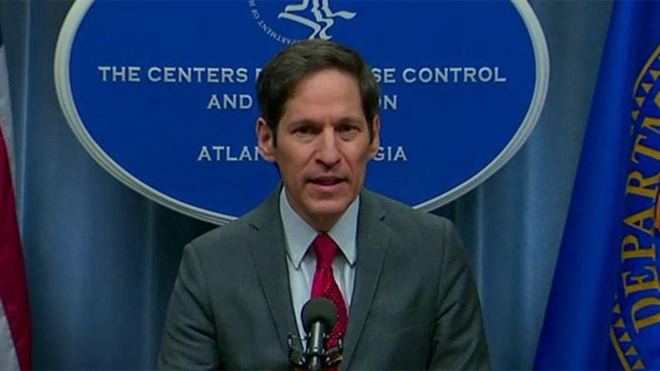 CDC director Tom Frieden holds press conference on Ebola