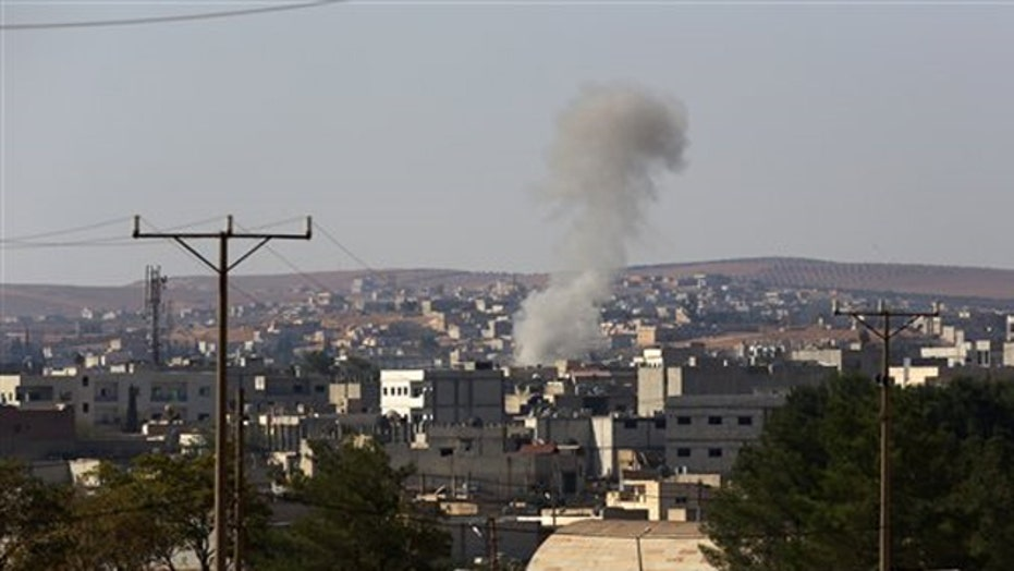 Syrian city of Kobani at risk of falling to ISIS