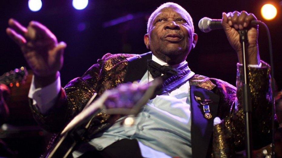 BB King too sick to play